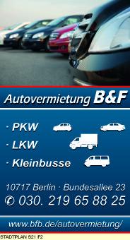 Logo von B & F Autovermietung