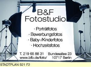 Logo von B & F Fotostudio