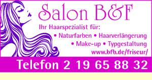 Logo von Salon B & F