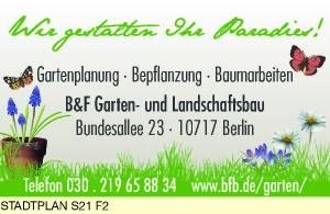 B & F Garten- und Landschaftsbau