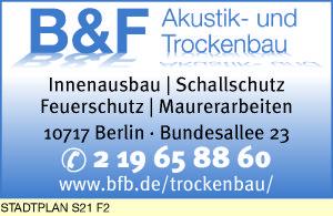 B & F Akustik- und Trockenbau