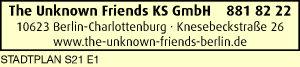 Logo von The Unknown Friends KS GmbH