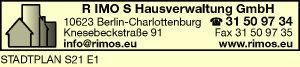 R IMO S Hausverwaltung GmbH