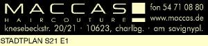 Logo von Maccas Haircouture