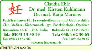 Ehle, Claudia, Kuhlmann, Kirsten, Dr. med. und Dr. med. Katja Martens