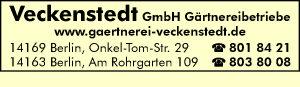 Veckenstedt GmbH Gärtnereibetriebe