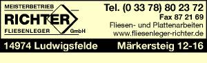 Richter Fliesenleger GmbH Meisterbetrieb