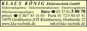 König Elektrotechnik GmbH, Klaus