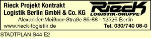 Rieck Projekt Kontrakt Logistik Berlin GmbH & Co. KG