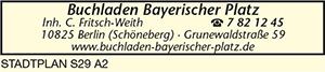Logo von Buchladen Bayerischer Platz, Inh. C. Fritsch-Weith