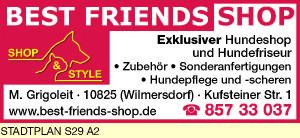 Best Friends Shop, M. Grigoleit