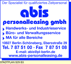 abis personalleasing gmbh