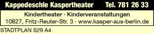 Logo von Kappedeschle Kaspertheater