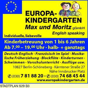 Europa-Kindergarten Max und Moritz gGmbH