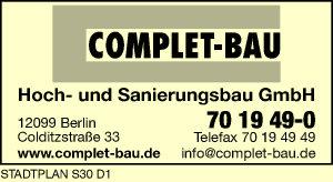 Complet-Bau Hoch- und Sanierungsbau GmbH