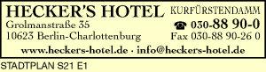 Logo von Hecker's Hotel Kurfürstendamm