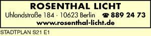 Rosenthal Licht