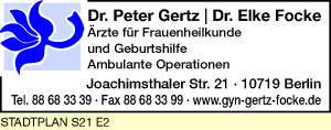 Gertz, Peter und Elke Focke, Dres.