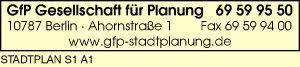 Logo von GfP Gesellschaft für Planung