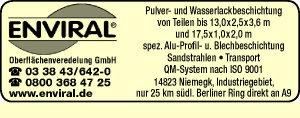 Enviral® Oberflächenveredelung GmbH