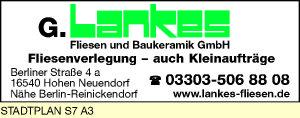 G. Lankes GmbH Fliesenleger - Meisterbetrieb