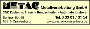 METAG Metallverarbeitung GmbH