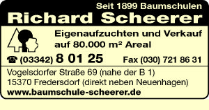 Baumschulen Richard Scheerer