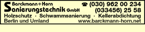 Barckmann + Horn Sanierungstechnik GmbH