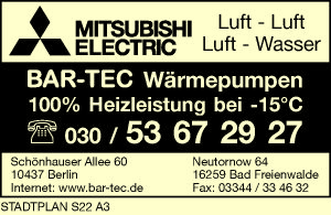 BAR-TEC Wärmepumpen