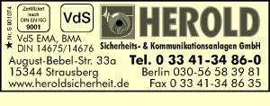 HEROLD Sicherheits- & Kommunikationsanlagen GmbH
