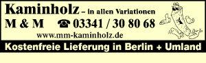 M & M Kaminholz GbR - Kaminholz in allen Variationen