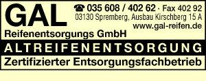 GAL Reifenentsorgungs GmbH - Altreifenentsorgung Reifenentsorgung