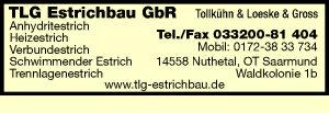 TLG Estrichbau GbR