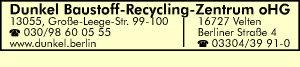 Dunkel Baustoff-Recyling-Zentrum oHG