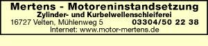 Logo von Mertens Motorinstandsetzung