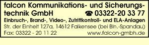 falcon Kommunikations- u. Sicherungstechnik GmbH