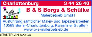 B & S Borgs & Schülke Malerbetrieb GmbH