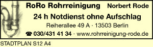 RoRo Rohrreinigung Nobert Rode