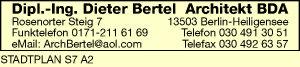 Logo von Bertel Dieter Dipl.-Ing.