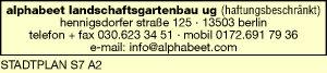 alphabeet landschaftsgärtnerei UG (haftungsbeschränkt)