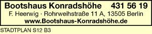 Bootshaus-Konradshöhe Heerwig