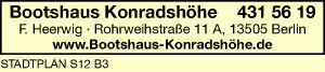 Bild 1 Bootshaus-Konradshöhe Heerwig in Berlin