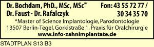 Bochdam, Dr., Faust, Dr., und Dr. Rafalczyk