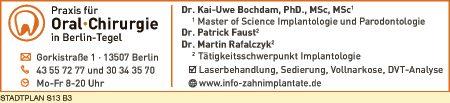Bochdam, Kai-Uwe, Dr., Faust, Patrick, Dr., und Dr. Martin Rafalczyk