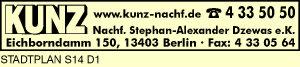 Kunz Nachf. Stephan-Alexander Dzewas e.K.