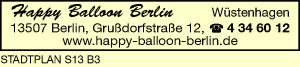 Happy Balloon Berlin