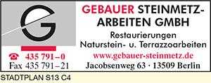 Gebauer Steinmetzarbeiten GmbH