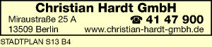 Logo von Christian Hardt GmbH