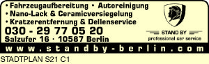 Logo von Stand By professional car service
