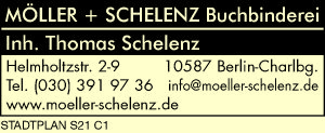 Logo von Möller + Schelenz Buchbinderei, Inh. Thomas Schelenz